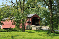Shearers Cove Covered Bridge (Paula Stephens) Tags: covered bridge americana historic landmark building structure road transportation vintage rural lancaster pennsylvania