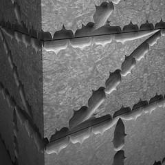 RFR021 Stone Corner Detail / Elijah Porter (_ElijahPorter) Tags: stone digitalfabrication architecture ornament serif articulatesurface strangedetail limestone craft roughfront pattern surfacedesign tiling decoration contemporary fabrication masonry