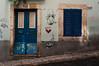Red in Blue (Eagle Keeper :)) Tags: door blue azure deep window quarter bairro alto windows doors red heart love art graffity street streetart streetphotograpy
