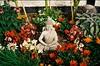 Buddha Garden - Walmer, Kent (35mm) (jcbkk1956) Tags: buddah stone statue figure garden walmer deal kent film 35mm analog manualfocus agfavista200 agfa minolta af65zoom worldtrekker flowers buddhist buddhism