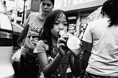 Do The Dew (Meljoe San Diego) Tags: meljoesandiego fuji fujifilm x100f streetphotography street closeup candid monochrome philippines
