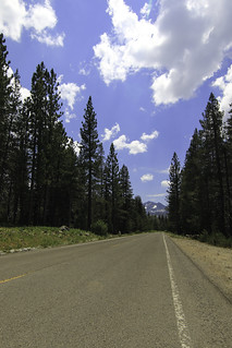 Sierra Buttes as seen from Gold Lakes Road