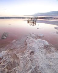 Salinas de Torrevieja (:) vicky) Tags: salinas alicante españa esolympusvisionarios esolympus olympus olympusdigitalcamera vickyepla valencia visionario sunset