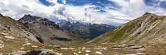 Pas de Lona panorama (Unliving Sava) Tags: sasseneire wallis pasdelona alps mountains valdanniviers zomer valais suisse summer schweiz switzerland2017 hiking pointesdetsavolire switzerland valdhérens zwitserland valdemoiry grimentz ch