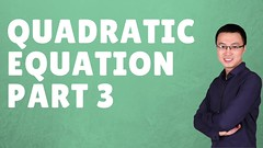 HOW TO SOLVE   QUADRATIC EQUATION [ PART 3] - IB A LEVEL IGCSE (Happymath _ Math Teacher) Tags: alevel alevelsubject algebra aslevel aa âa â calculus easymaths fastmath mathematician math mathematics maths mathquiz mathsonline mathproblemsolver mathsproject mathformulas mathsquestion mathforkids mathtutoronline mathtricks mathssolution mathworksheets mathwordproblems mathtest grade khanacademy khanacademymath khan learnmath prealgebra mentalmath 3rdgrademath 7thgrademath trigcalculator internationalschool triggraphs googlemath onlinemath discretemathematics geometricshapes geometryformulas trigonometryformulas
