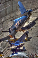 Vought F4U Corsair (GJC1) Tags: stevenfudvarhazycentre washington smithsonian nasm