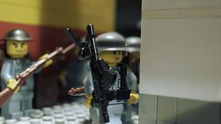 Lego Chinese Machine Gunner