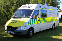 St. John Ambulance Mercedes Sprinter Command Unit JR800 (PFB-999) Tags: st john ambulance sja mercedes sprinter command control unit van vehicle cu grilles sidelights strobes sv4470 rescue day 2017 crowle