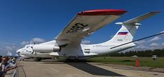 Ilyushin Il-76LL - 1 (NickJ 1972) Tags: zhukovsky maks 2017 airshow aviation ilyushin il76 candid ra76492 gromov flight research institute