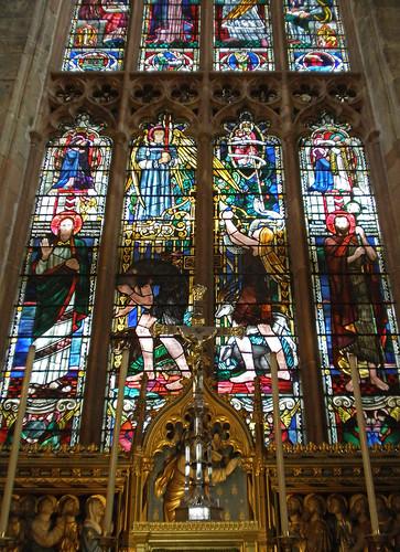St John the Baptist, Coventry. East Window