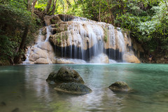 Erawan national park. Thailand.