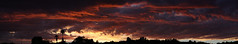 Sunset 8 19 17 #11 Panorama (Az Skies Photography) Tags: sun set sunset dusk twilight nightfall clouds cloud red orange yellow gold golden salmon black rio rico arizona az riorico rioricoaz sky skyline skyscape arizonasky arizonaskyline arizonaskyscape arizonasunset canon eos 80d canoneos80d eos80d canon80d august 19 2017 august192017 81917 8192017