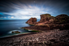 Slipping into the Abyss (Augmented Reality Images (Getty Contributor)) Tags: bigstopper clachtoll cliffs clouds coastline landscape leefilters longexposure rocks scotland seascape splitrock sutherland water waves