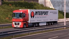 Renault Magnum - Interport B.V (Pumizo TIR) Tags: renault magnum kogel interport stoptrans ets2 scs software