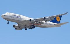 Lufthansa Boeing 747-430 with registration D-ABVO (Fasil Avgeek (Global Planespotter)) Tags: lufthansa boeing 747430 with registration dabvo air airways airlines airport iad kiad 747400 jet aircraft airplane airliner jetliner
