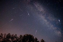 Perseids (vaibhav.pandeys) Tags: longexposure universe nature stargazers stargazing canada alberta travel meteors astronomy astrophotography nightphotography nightsky milkyway stars shootingstars meteorshower meteor perseid2017 perseid perseids