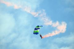 skoczek1 (JarHTC) Tags: gdynia poland air airshow fujifilm xe2 paraschute