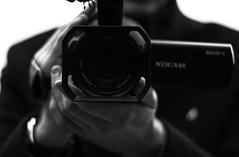 Our Film Has Not Ended. (Kiril Vasilev) Tags: film camera student london roehampton university black white love story romance romantic