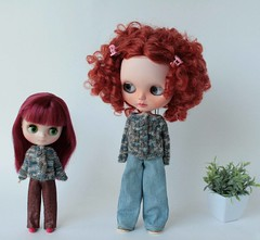 Aline and Pepa