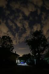 Metti una sera d'estate in Appennino ...... (giobertaskin) Tags: canoneos5dmklll canoneos canon f28 trees alberi silhouette samyang fisheye appennino summerevenings seredestate notte night cielo sky clouds nubi stelle stars