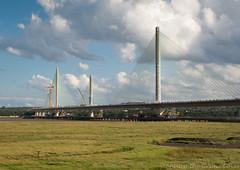Mersey Gateway 11 aug 17 (Shaun the grime lover) Tags: mersey bridge river gateway cheshire runcorn widnes