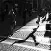 Ljubljana (ale neri) Tags: street bw aleneri shadow sunlight people upsidedown ljubljana lubiana slovenia slovenija streetphotography blackandwhite alessandroneri
