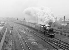44932 leaves Derby. (johncheckley) Tags: uksteam black5 passengertrain
