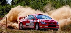 """Rallye """"Terre de l'Auxerrois"""" 2013 (jjcordier) Tags: rallye terre auxerre rouge courseautomobile peugeot"""