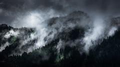 Brume (Olivier Dégun) Tags: cabaliros eos700d raw randonnée pyrénnées paysage nuage lightroom montagne eos france hautespyrénnées lanscape canon cauterets nature brume brouillard