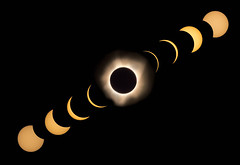 Celestial Sequence (Vic H Miranda) Tags: 500mm d810 nikon explore corona sunflares eclipseusa eclipse2017 pathoftotality totality totalsolareclipse eclipse newmoon moon sun northamerica oregon usa