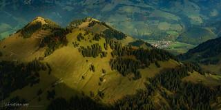 Les crêtes de la Vudalla (Switzerland)