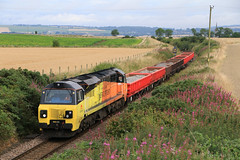 Colas Railfreight 70804 on 6K20 Montrose to Millerhill (60044) Tags: