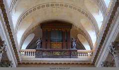 le  Buffet de l'orgue de l'Eglise (Barnie76@ ,PLus présent) Tags: buffet orgues eglise egliselamadelaine rouen