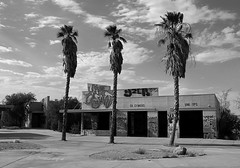 """""""Out Of Tune"""" (Death By Sushi) Tags: lakedolores mojavedesert abandoned bnw blackandwhite leica"""