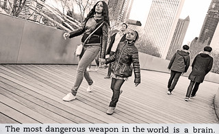 Modern Adventures in Parenting in Chicago: The Most Dangerous Weapon in the World is the Brain