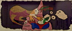 Untitled (Undated) - José Guimarães (1939) (pedrosimoes7) Tags: joséguimarães centrodeartemanueldebrito camb paláciodosanjos algés portugal color coulor couleur cor colorsmix ✩ecoledesbeauxarts✩