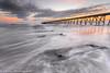 Soft Sunrise (Steven Peachey) Tags: sunrise seascape sky sea beach clouds morning light seaside exposure pier steetley steetleypier northeastcoast northeastengland uk england ef1740mmf4l canon5dmarkiv 5dmarkiv lee09gnd leefilters stevenpeachey lightroom hartlepool theheadland tide coast horizon