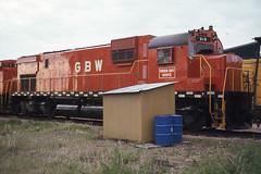 GB&W C430 #315 in Winona MN on 5-22-76 (LE_Irvin) Tags: c430 gbw winonamn
