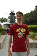A wandering phtographer (radargeek) Tags: charleston sc southcarolina downtown fountain pineapplefountain tshirt fallout mushroomkingdom explosion mario