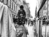 twins & lion (Dan Johan) Tags: bw blackandwhite stockholm epl3 bnw monochrome street