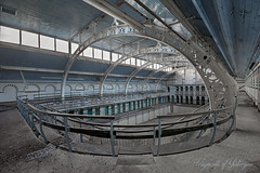 Twisting by the Pool (Fragments of Yesteryear (LvS)) Tags: inexplore explore abandoned exploring ue explorer verlaten verlassen swimmingpool pool architecture photography photo edwardian forgotten leisure decay derelict nikon fragmentsofyesteryear lvsproductions d5200 urban