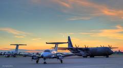 Northolt Sunset Shoot (andy.gittos) Tags: raf northolt night shoot sunset british aerospace 146 embraer emb121 xingu c130 hercules