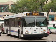 Winnipeg Transit #578 (vb5215's Transportation Gallery) Tags: winnipeg transit 2003 new flyer d40lf