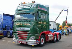 TV018003-Manchester. (day 192) Tags: manchester manchestercityfootballclub mcfc etihadstadium greatnorthwesttruckshow truckshow transportrally transportshow lorries lorry wagon truck daf xf dafxf smiths smithsofbury dg17kbu