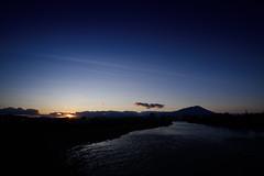 Sunset (kat-taka) Tags: ã¬ãã sunset morioka blue river