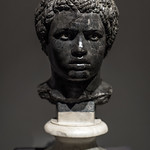 Marble portrait bust of a young African man (2) thumbnail