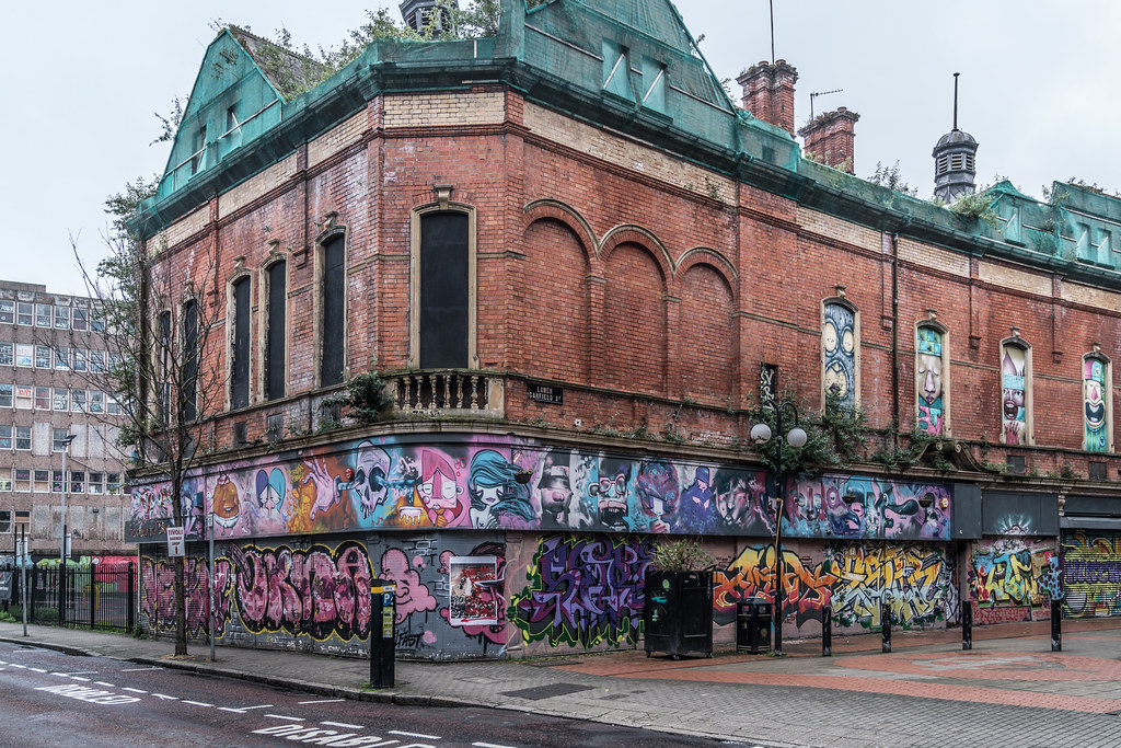 EXAMPLES OF URBAN CULTURE IN BELFAST [STREET ART AND GRAFFITI]-132950