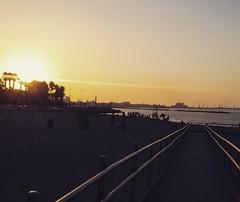 Bari Sunset (Francesco Spadafina) Tags: bari sunset tramonto puglia italy italia pane e pomodoro beach summer spiaggia