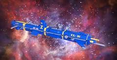SHIPtember 2017 IWS Skärpt (LettuceBrick) Tags: shiptember ship space shiptember2017 ikea spaceship