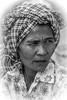 portrait cambodge/Cambodia (ichauvel) Tags: portrait portraiture noiretblanc blackandwhite femme woman visage face krama expression vertical cambodge cambodia asie asia asiedusudest southeastasia voyage travel exterieur outside